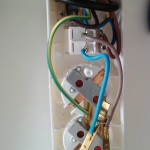 Steckerleiste vor Zusammenbau 1