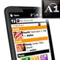 HTC HD2 und A1: Fernsehen und richtiges Liveportal mit Opera Mobile und a1.net