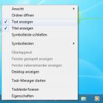 Windows 7 XP Startleiste 8