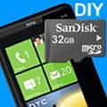 """HTC HD7 Speicher erweitern """"ohne"""" Garantieverlust"""