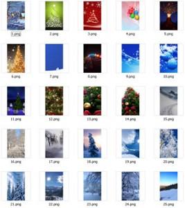 Winter Wallpapers 480×800