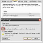 iSCSI Initiator Windows XP 5