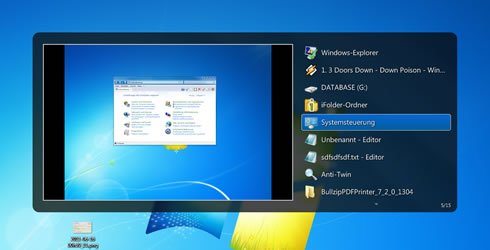 Windows 7 Features Vista Switcher