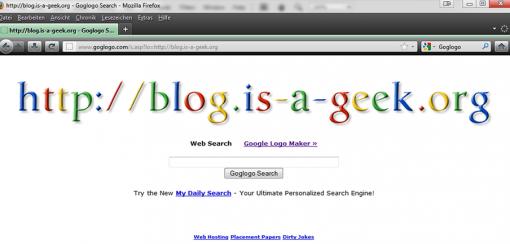 Google Eastereggs Goglogo