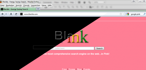 Google Eastereggs Google Black Pink