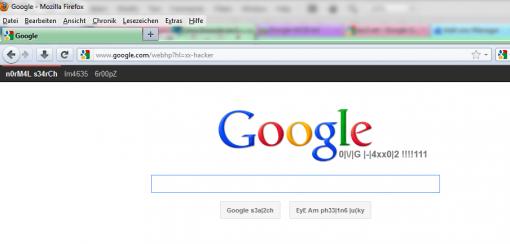 Google Eastereggs Google l33t