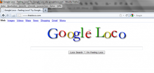 Google Eastereggs Google Loco