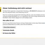 SSL Firefox
