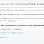 SSL Internetexplorer
