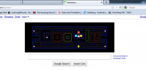 Google Eastereggs Pacman
