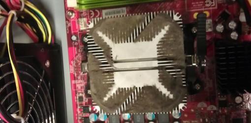 Dreckschleuder 17 Desktop Kühler