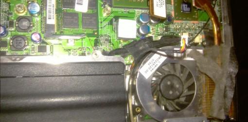 Dreckschleuder 2 Fujitsu Siemens Notebook