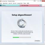 Firefox Sync Server Bild 8