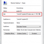 Remotedesktop Verknüpfung 4