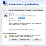 Remotedesktop Verknüpfung 8