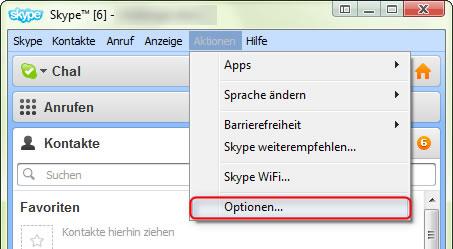 Skype Symbol aus der Taskleiste entfernen 1